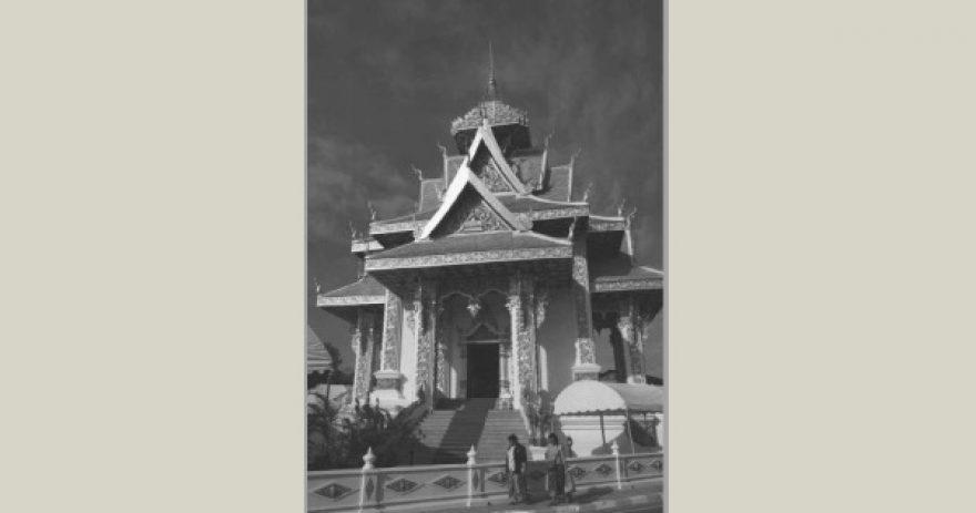Le Musée du pilier de la ville de Vientiane.