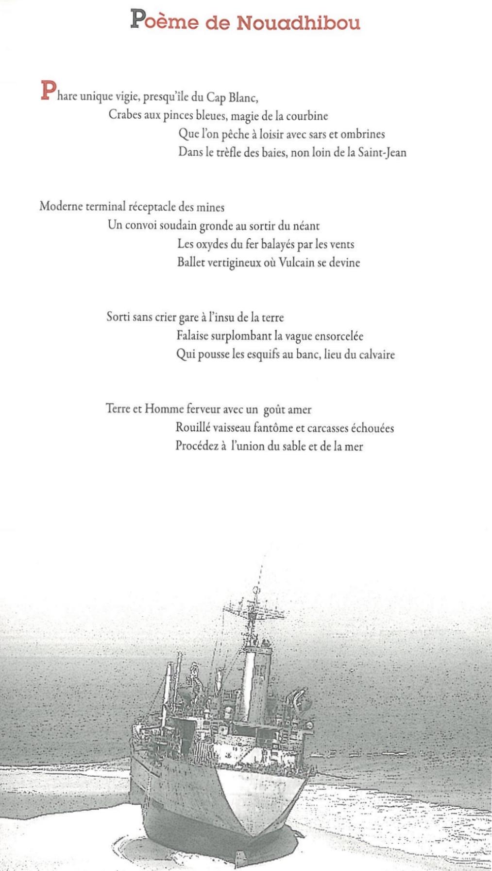 Poème de Nouadhibou