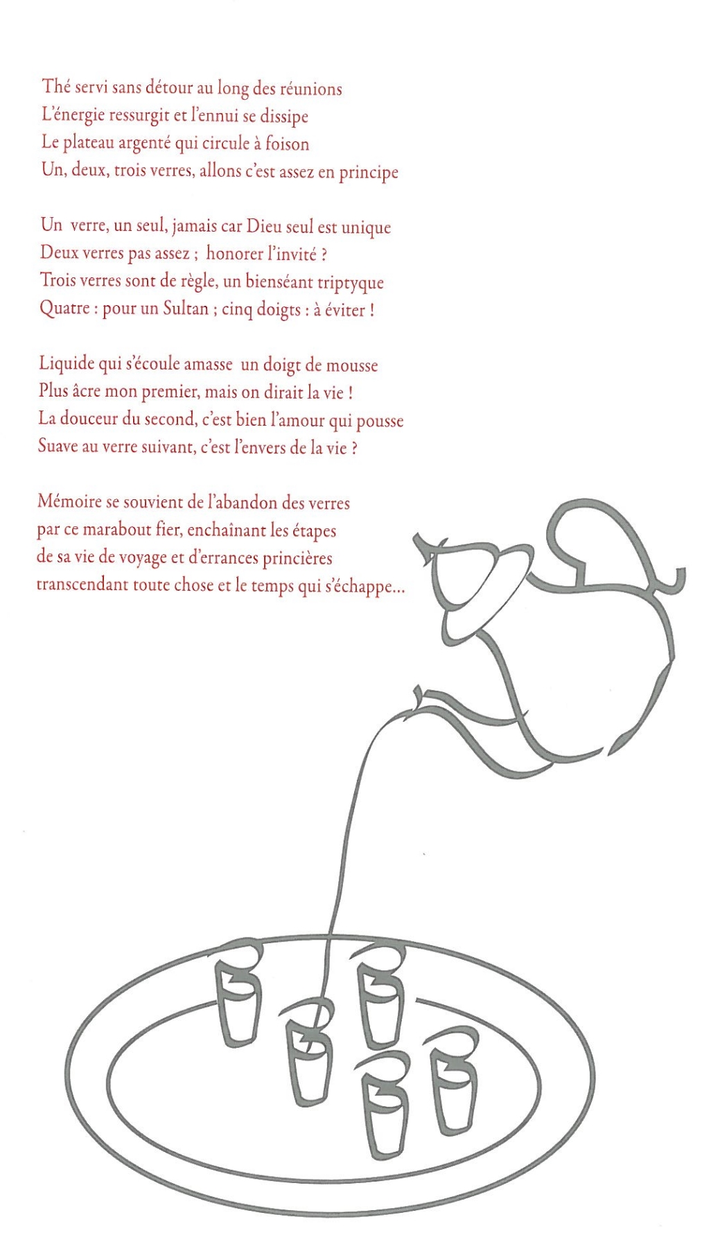 Littérature Poèmes Du Thé Livres En Français Livres En